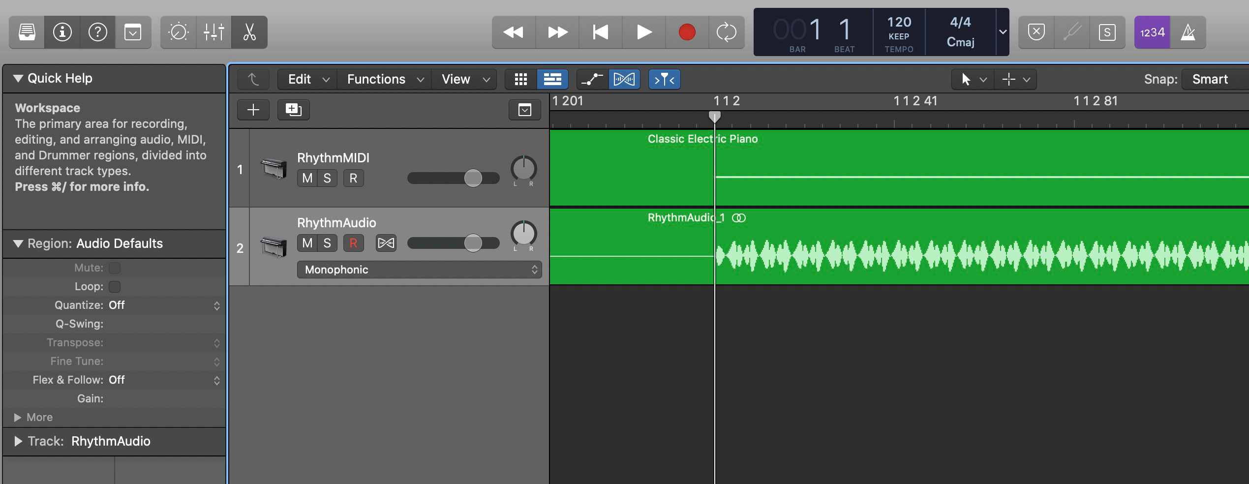 Trim silence at the beginning of the audio file.